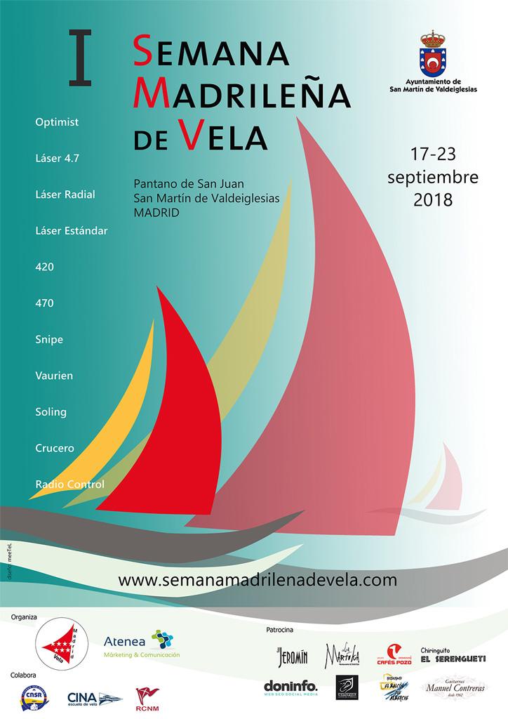 Cartel Semana Madrileña de Vela