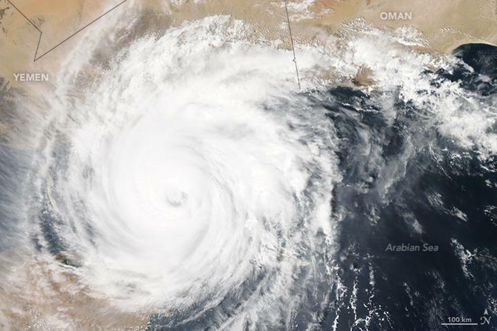 Ciclón en Yemen