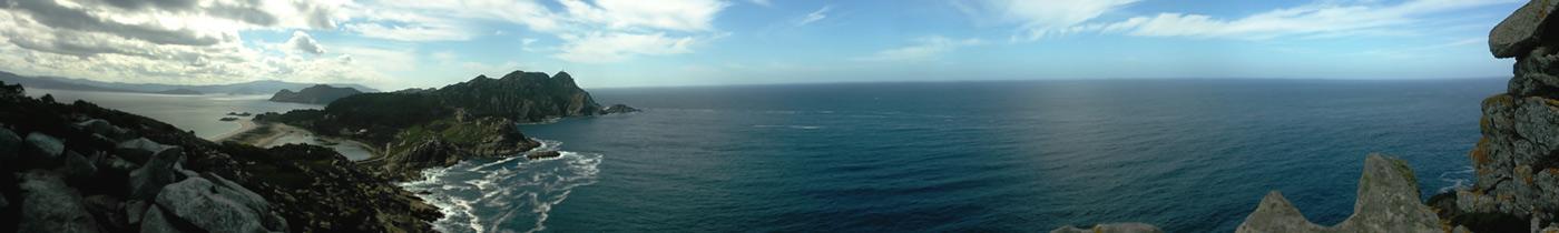 Islas Cíes foto panorámica