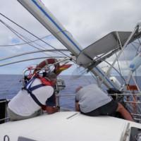 Sin mástil camino a las Azores
