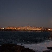 Luz en el mar
