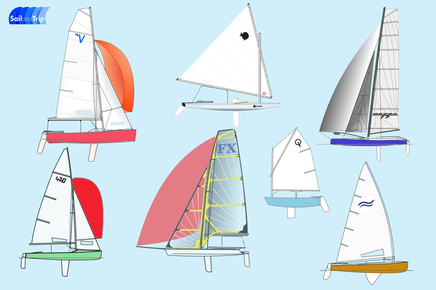 Barcos de vela ligera