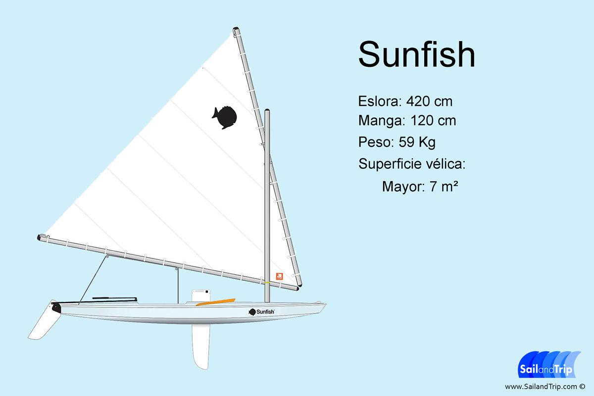 Sunfish barco de vela