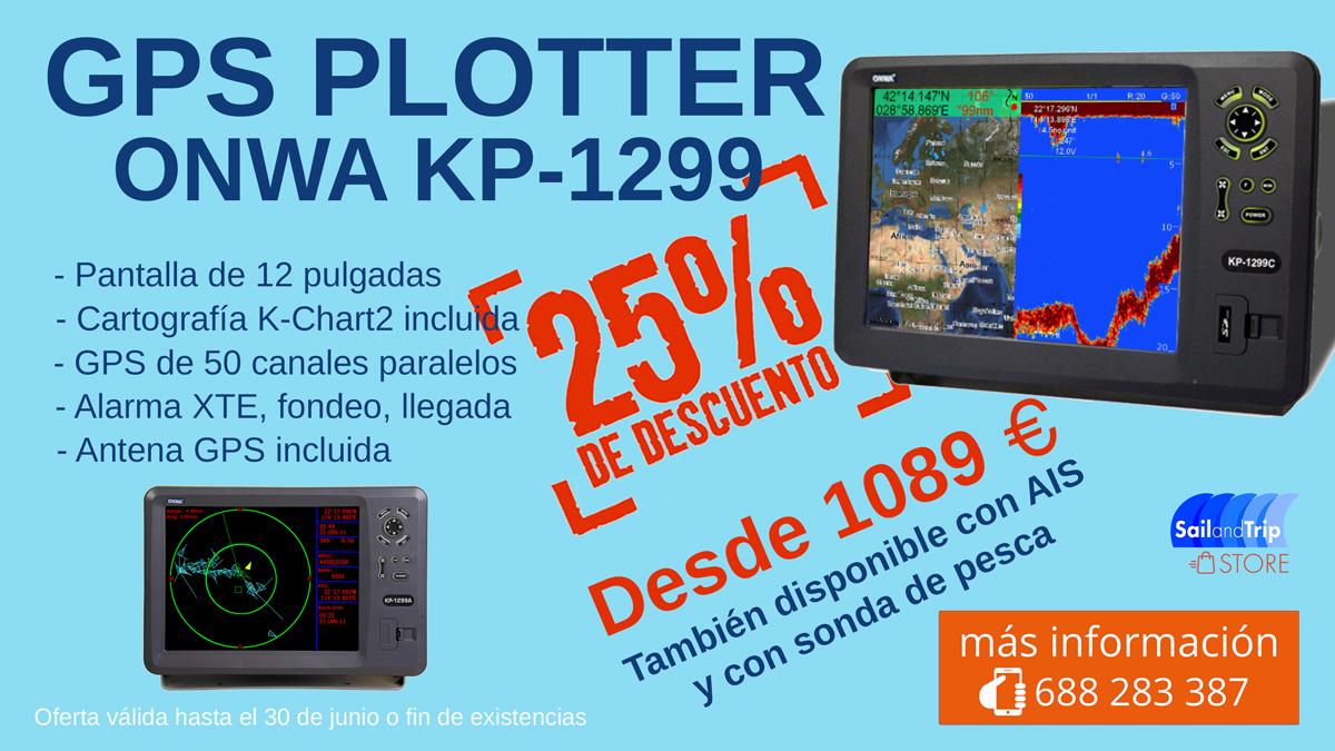 OFERTA GPS PLOTTER ONWA