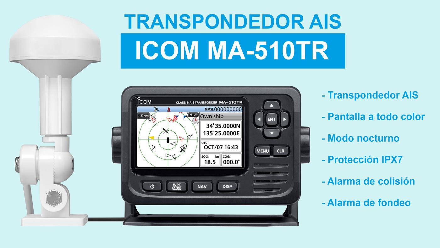 ICOM MA-510TR AIS transponder